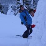 Snowhoe fun