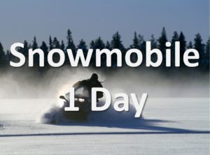 Lappesuando - Snowmobile 1 Day